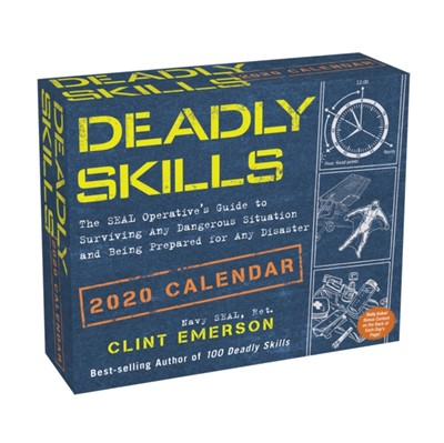 Deadly Skills 2020 Day-to-Day Calendar Clint Emerson 9781449497750