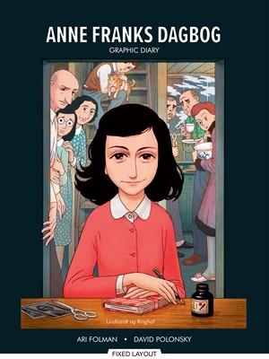 Anne Franks Dagbog graphic novel ANNE FRANK 9788711919972