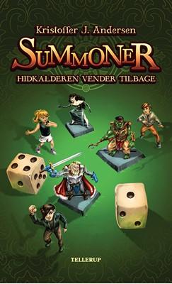Summoner #2: Hidkalderen vender tilbage Kristoffer J. Andersen 9788758831756