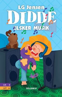 Didde elsker alt #3: Didde elsker musik LG Jensen 9788758836058