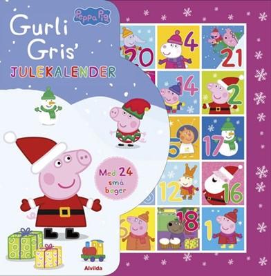 Peppa Pig - Gurli Gris - Julekalender med 24 små bøger Ukendt forfatter 9788741507347