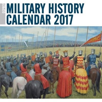 Osprey Military History Calendar 2017  9781472816849