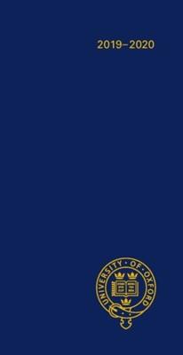 Oxford University Pocket Diary 2019-2020 Oxford 9780198841678