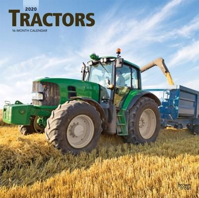 Tractors 2020 Square Wall Calendar  9781975414894