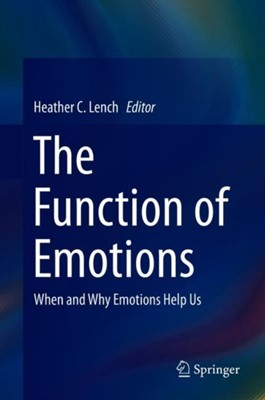 The Function of Emotions  9783319776187