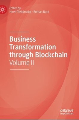 Business Transformation through Blockchain  9783319990576