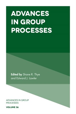 Advances in Group Processes  9781838675042