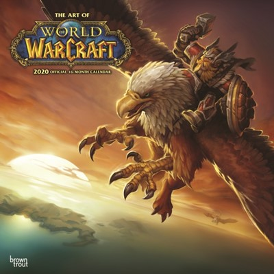 World of Warcraft 2020 Square Wall Calendar Inc Browntrout Publishers 9781975412241
