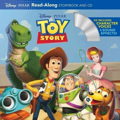 Toy Story Read-Along Storybook and CD Disney Book Group, Disney Books 9781423133490