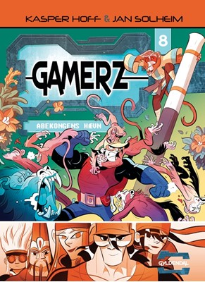 Gamerz 8 - Abekongens hævn Kasper Hoff 9788702275230