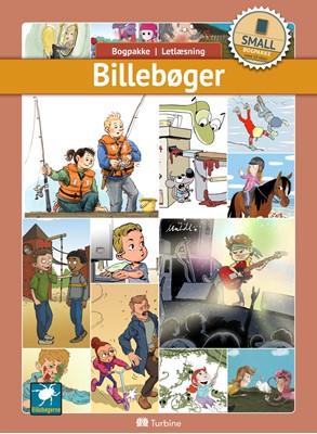 Billebøger (SMALL 10 bøger) fiktion, Bogpakke, letlæsning 9788740659917