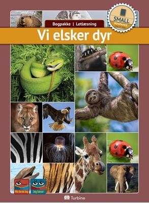 Vi elsker dyr (SMALL 10 bøger) fakta, Bogpakke, letlæsning 9788740660159