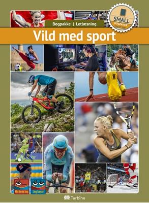 Vild med sport (SMALL 10 bøger) fakta, Bogpakke, letlæsning 9788740660180