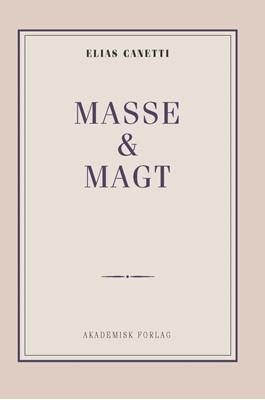 Masse og magt Elias Canetti 9788750052685