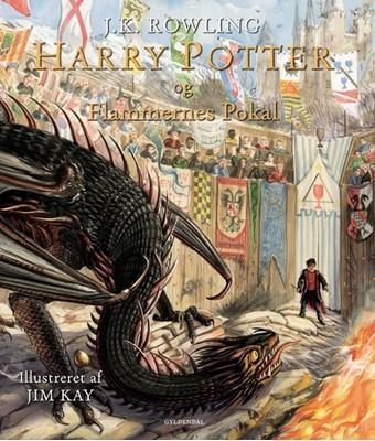 Harry Potter Illustreret 4 - Harry Potter og Flammernes Pokal J. K. Rowling 9788702284799