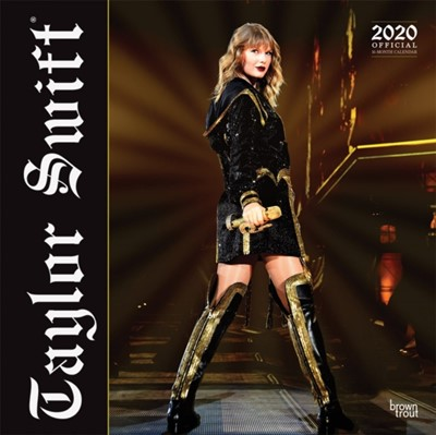 Taylor Swift 2020 Square Wall Calendar Inc Browntrout Publishers 9781975412159