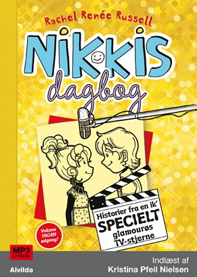Nikkis dagbog 7: Historier fra en ik' specielt glamourøs TV-stjerne Rachel Renée Russell 9788741509426