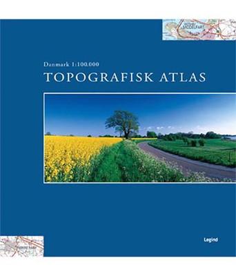 Topografisk Atlas Danmark 1:100.000  9788771558203