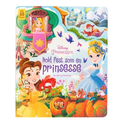 Disney - Hold fest som en prinsesse Karrusel Forlag 9788771861464