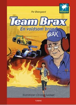 Team Brax - En voldsom brand Per Østergaard 9788740659306