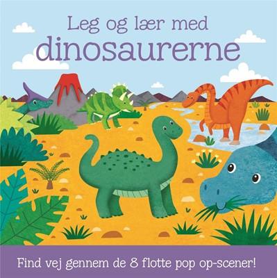 Leg og lær med dinosaurerne - med 8 pop op-scener  9788711919545