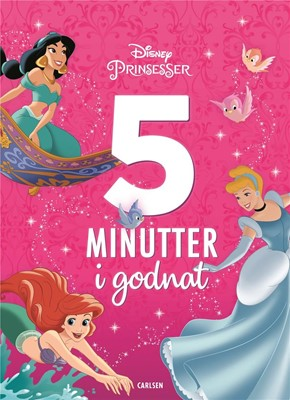 Fem minutter i godnat - Disney Prinsesser DISNEY, Disney Book Group 9788711980002