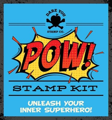 POW! Stamp Kit Cider Mill Press 9781604338768