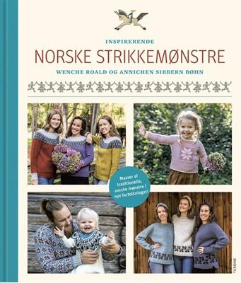 Inspirerende norske strikkemønstre Annichen Sibbern Bøhn, Wenche Roald 9788740655582