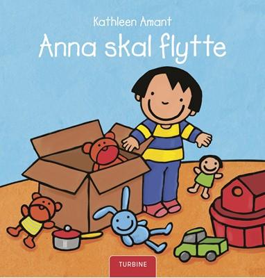 Anna skal flytte Kathleen Amant 9788740658507