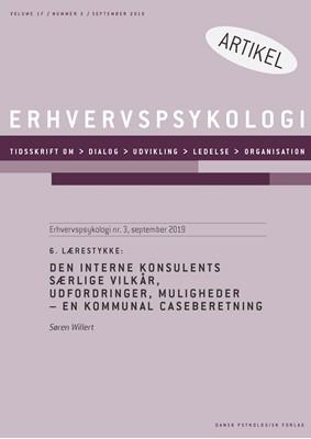 6. Lærestykke: Den interne konsulents særlige vilkår, udfordringer, muligheder Søren Willert 9788771854060