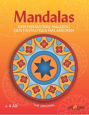 Den Fantastiske Malebog med Mandalas fra 4 år  9788791891045