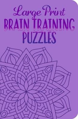 Large Print Brain Training Puzzles Eric Saunders 9781789507706