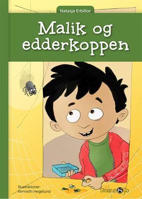 Malik og edderkoppen Natasja Erbillor 9788770185295