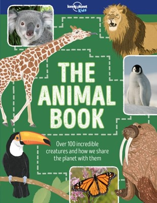 The Animal Book Lonely Planet Kids, Ruth Martin 9781786574336