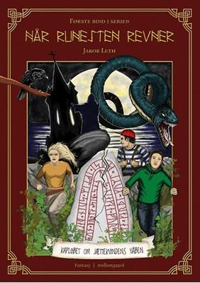 Kapløbet om jættekvindens våben  Jacob Leth 9788772187389