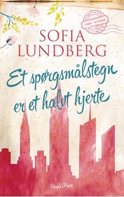 Et spørgsmålstegn er et halvt hjerte Sofia Lundberg 9788772006765