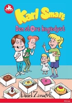 Karl Smart - Den store kagedyst, Rød Læseklub Daniel Zimakoff 9788723542977