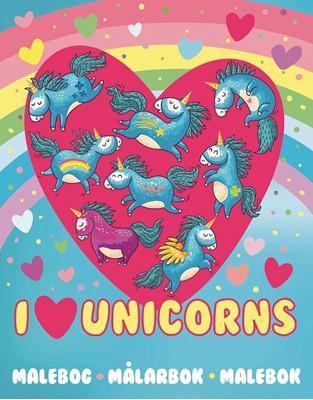 Unicorn Malebog - ingen forfatter - - ingen forfatter - 9788771316124