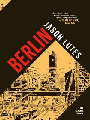 Berlin Jason Lutes 9788770858045