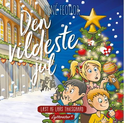 Den vildeste jul René Frederiksen, René Feodor 9788770303514