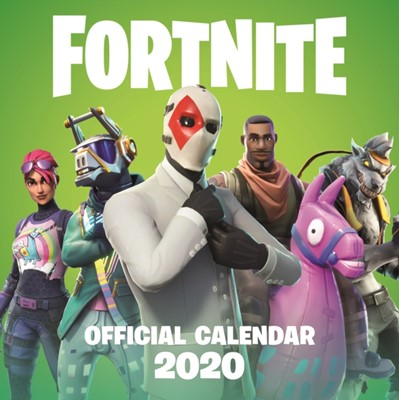 FORTNITE Official 2020 Calendar Epic Games 9781472265791