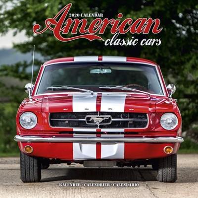 American Classic Cars Calendar 2020 Avonside Publishing Ltd 9781785807305