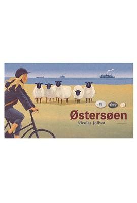 På øhop i Østersøen Nicolas Jolivot 9788772186313