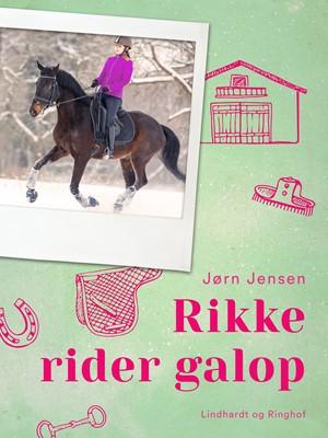 Rikke rider galop Jørn Jensen 9788726054309