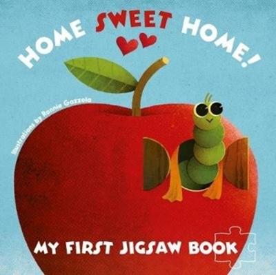 My First Jigsaw Book: Home Sweet Home! Ronny Gazzolla 9788854413924