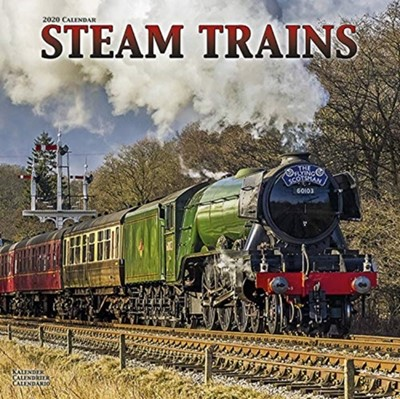 Steam Trains Calendar 2020 Avonside Publishing Ltd 9781785807411