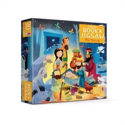 Usborne Book and Jigsaw The Nativity Sam Smith 9781474960281