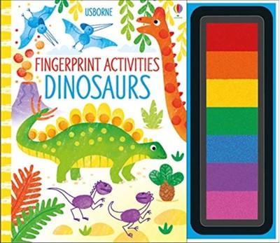 Fingerprint Activities Dinosaurs Fiona Watt 9781474967921