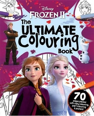 Disney Frozen 2 The Ultimate Colouring Book Igloo Books 9781789055511
