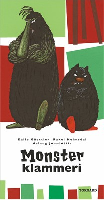 Monsterklammeri Kalle Güettler, Áslaug Jónsdóttir, Rakel Helmsdal 9788792286826